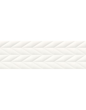 OPOCZNO FRENCH BRAID WHITE STRUCTURE 29x89 GAT.1