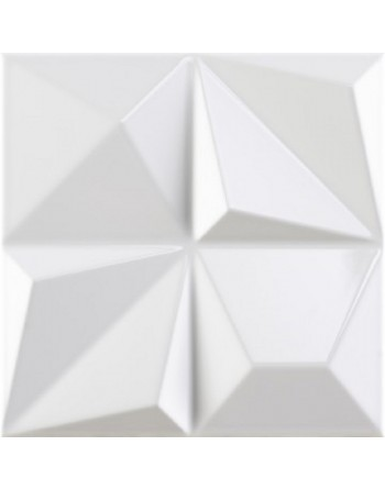DUNE MULTISHAPES WHITE GLOSS 25X25 GAT.1