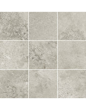 OPOCZNO QUENOS LIGHT GREY MOSAIC MATT BS 29,8x29,8 GAT.1