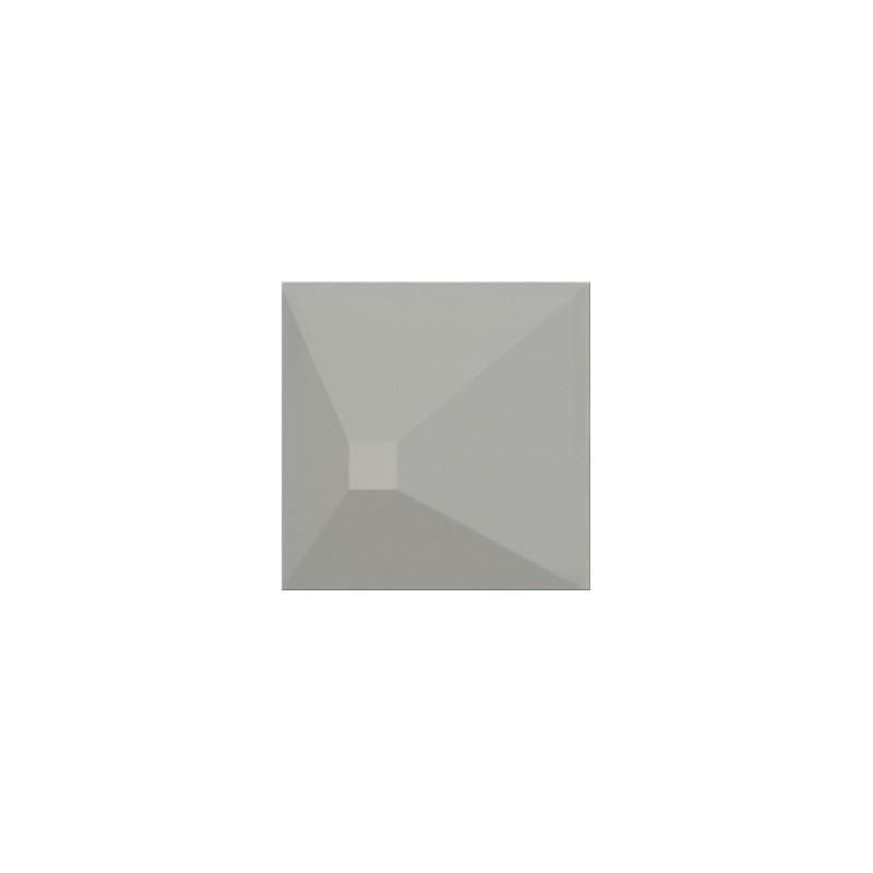 OPOCZNO MONOBLOCK GREY MATT 3D EFFECT 20X20 GAT.1