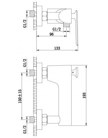 2. KOHLMAN EXPERIENCE BATERIA PRYSZNICOWA QW120E