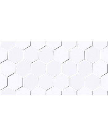 SC VIRGIN WHITE HEXAGON POŁYSK 30x60 GAT.1